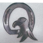 Horseshoe with Bird Head