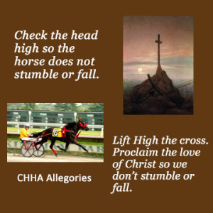 Lift high the cross allegory